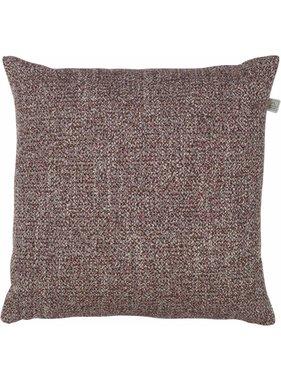 dutch decor sierkussens & plaids Kussenhoes Marli 45x45 cm Bordeaux