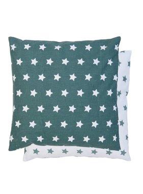 Clayre & Eef Kussenhoes Stars  40 x 40 cm