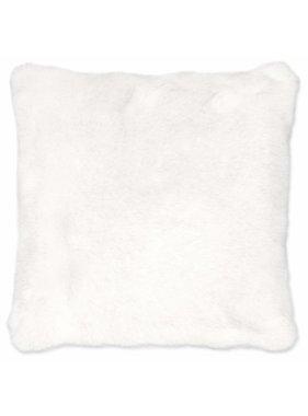 Unique Living sierkussens & plaids Sierkussen /sierkussens Seattle 45x45cm fake fur wit