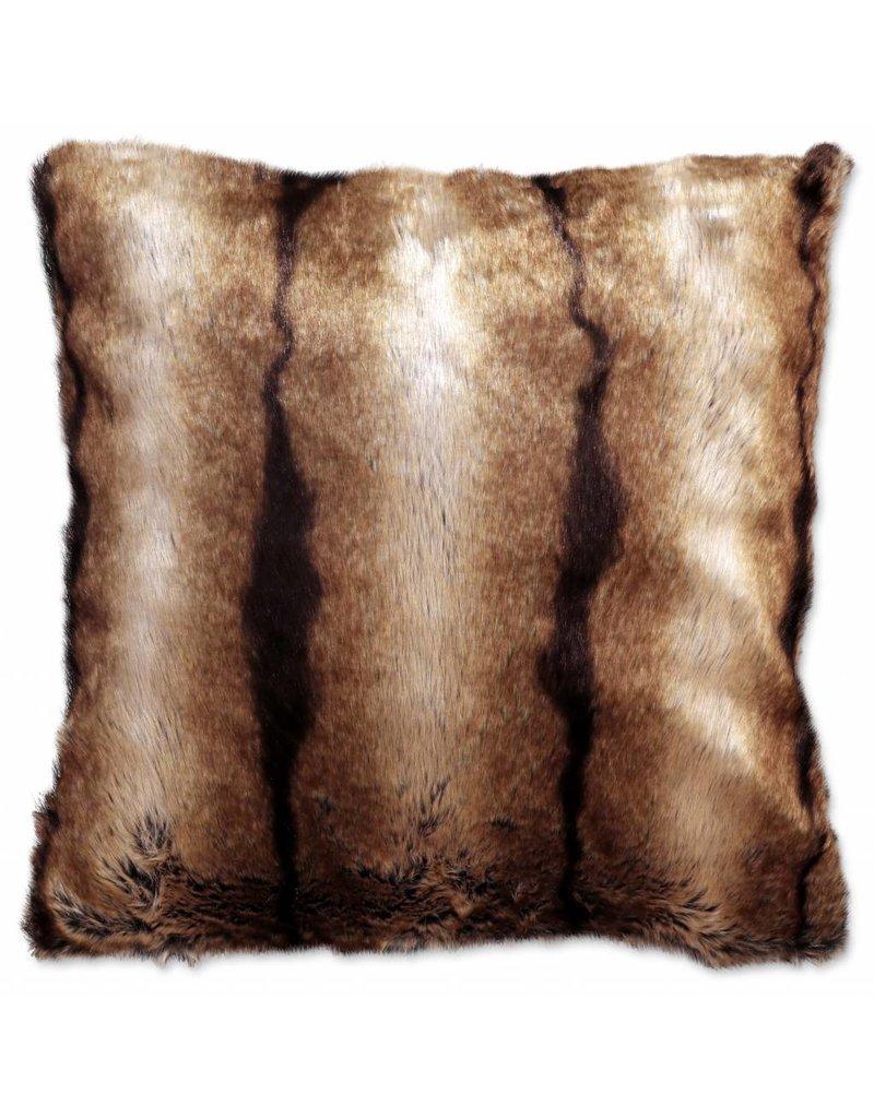 Unique Living sierkussens & plaids sierkussen  Brisbane 60x60cm fake fur