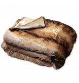 Unique Living sierkussens & plaids Plaid Brisbane 130x160cm fake fur