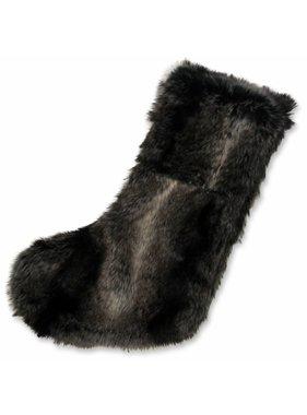 Unique Living sierkussens & plaids Kerstsok Sydney fake fur