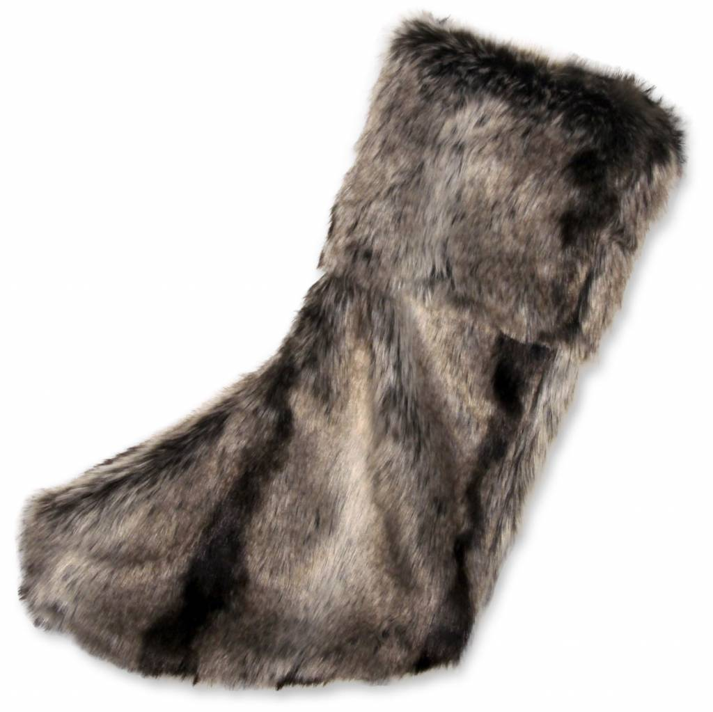 Unique Living sierkussens & plaids Kerstsok Darwin fake fur