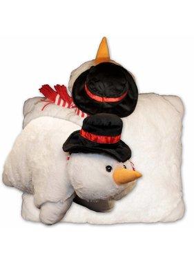 Unique Living sierkussens & plaids Kussen en  knuffel sneeuwpop