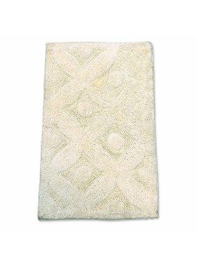 Unique Living sierkussens & plaids Badmat Fiore 50 x 80 cm ivoor