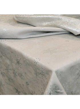Unique Living sierkussens & plaids Tafelkleed Crystal zilver