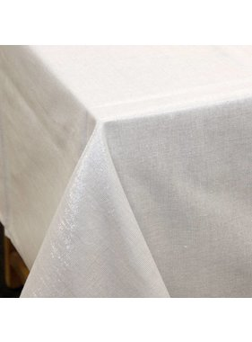 Unique Living sierkussens & plaids Tafelkleed  Glamour off white