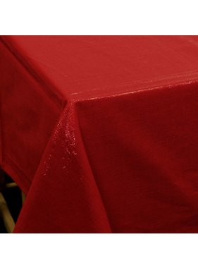 Unique Living sierkussens & plaids Tafelkleed  Glamour rood