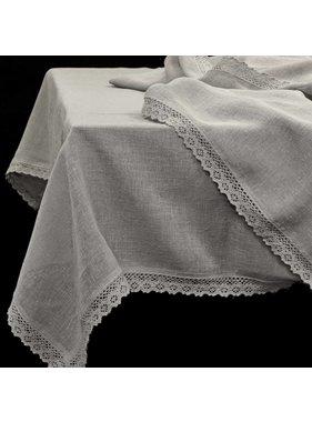 Unique Living sierkussens & plaids Tafelkleed Verona grijs