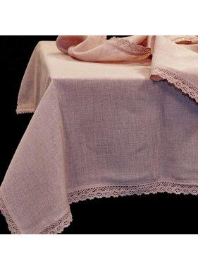 Unique Living sierkussens & plaids Tafelkleed Verona  oud rose