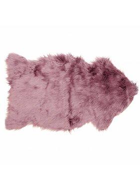 Decoratiebontje fake fur 60x100cm mesa rosa