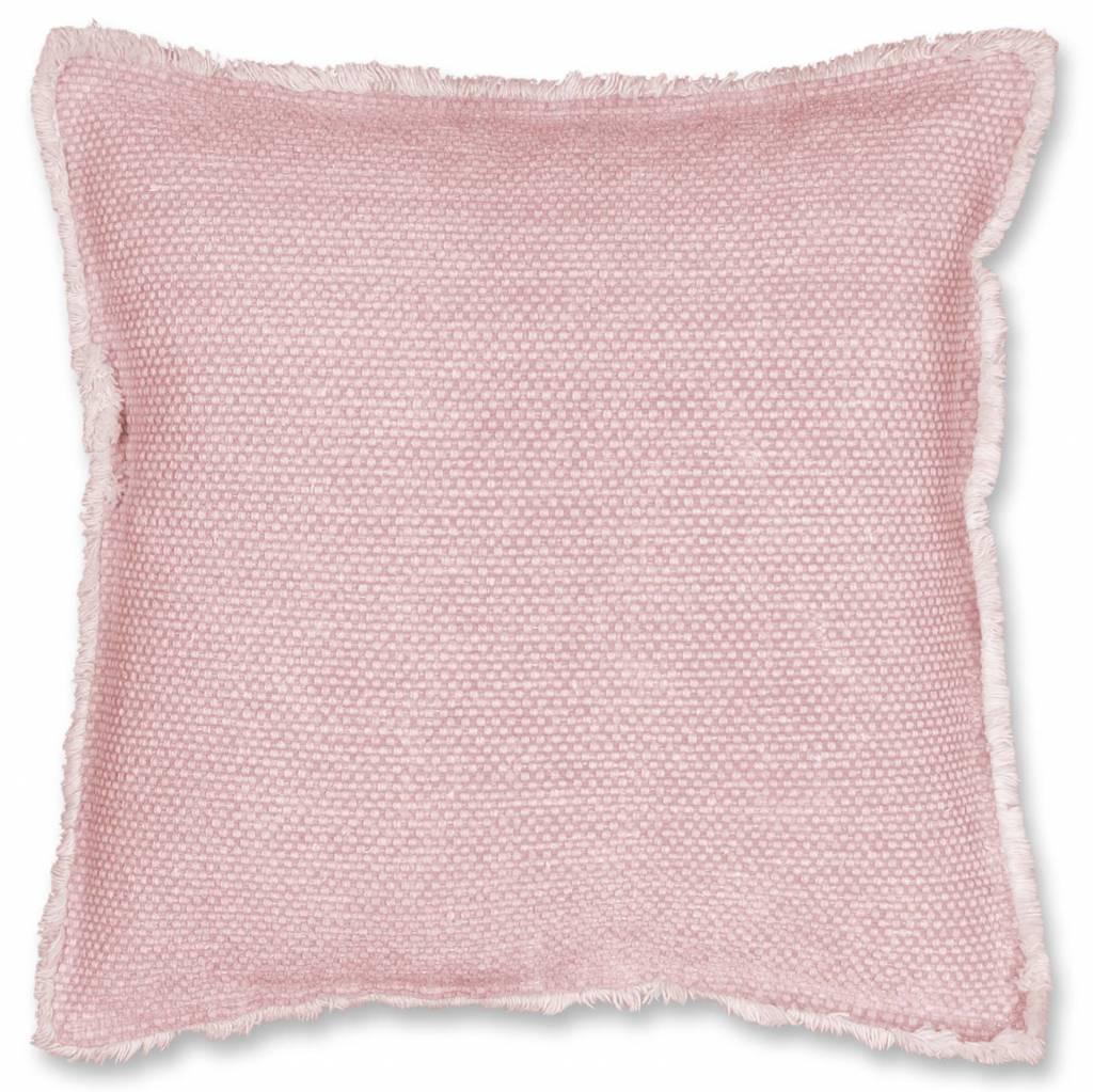 Unique Living sierkussens & plaids  sierkussen Revi   45x45 cm blush