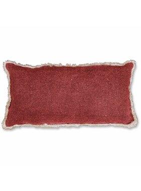 Unique Living sierkussens & plaids Revi Sierkussen / sierkussens 30x60 cm red