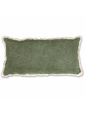 Unique Living sierkussens & plaids Revi Sierkussen / sierkussens 30x60 cm green