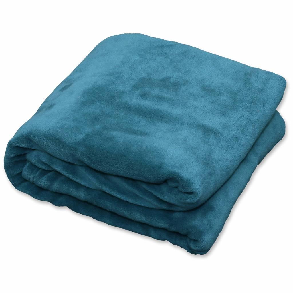 Plaid Claudi 150x200 cm lake blue