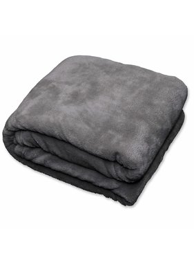 Plaid Claudi 150x200 cm dark grey
