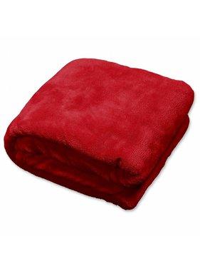 Plaid Claudi 150x200 cm red