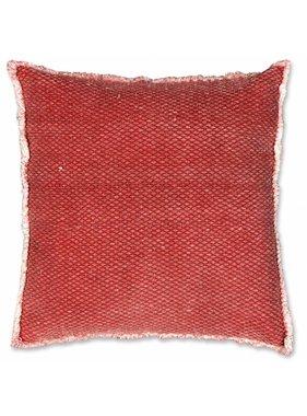 Unique Living sierkussens & plaids Sierkussen / sierkussens Aiko 60x60 cm red