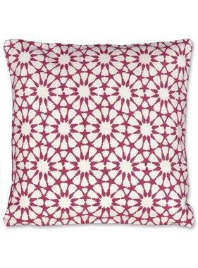Unique Living sierkussens & plaids Sierkussen / sierkussens Opium 45x45 cm red