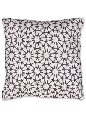 Unique Living sierkussens & plaids Sierkussen / sierkussens Opium 45x45 cm dark grey