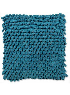 Unique Living sierkussens & plaids Sierkussen / sierkussens Nola 45x45 cm lake blue