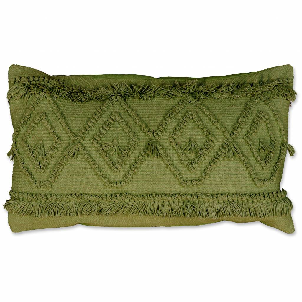 Unique Living sierkussens & plaids  sierkussen  Ambon 35x60 cm green