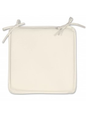 Unique Living sierkussens & plaids Tuinkussen plaat Outdoor 38x38x2,5cm off white