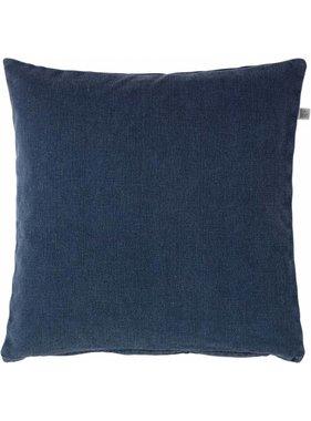 dutch decor sierkussens & plaids Sierkussen / sierkussens  Anna 50x50 cm donkerblauw