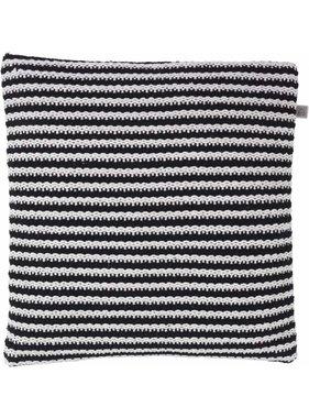 dutch decor sierkussens & plaids Sierkussen / sierkussens  Bertil 45x45 cm zwart
