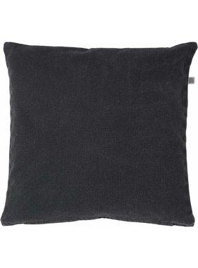 dutch decor sierkussens & plaids Sierkussen / sierkussens  Anna 50x50 cm zwart