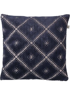dutch decor sierkussens & plaids Kussenhoes Aswan 45x45 cm donkerblauw
