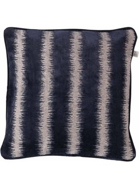 dutch decor sierkussens & plaids Kussenhoes Awesta 45x45 cm donkerblauw