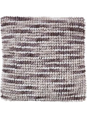 dutch decor sierkussens & plaids Kussenhoes Liam 45x45 cm taupe multi