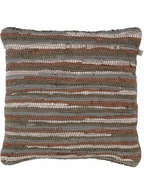dutch decor sierkussens & plaids Kussenhoes Ditte 70x70 cm olijf multi