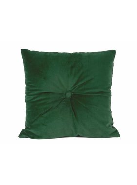 pt, Sierkussen / sierkussens Luxurious dark green 45 x45