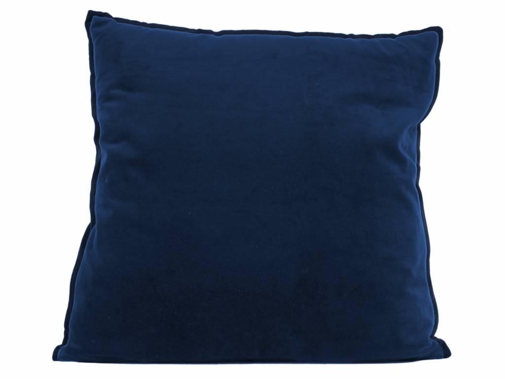 sierkussen Luxurious XL blue