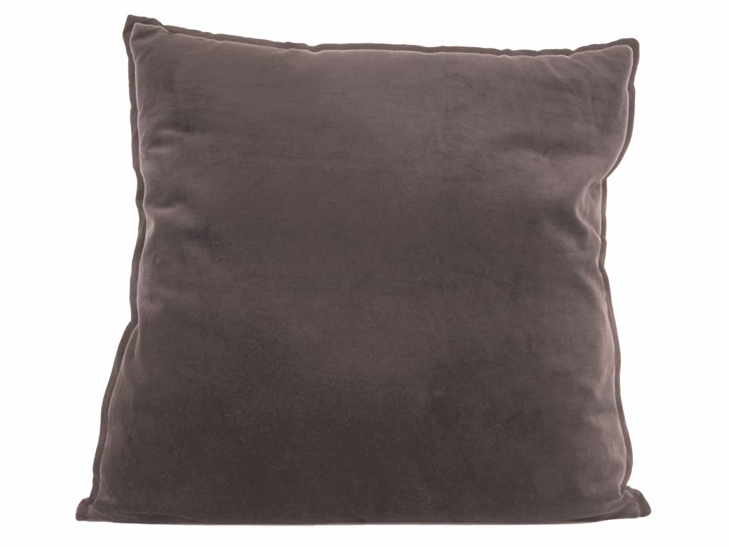 sierkussen Luxurious XL warm grey