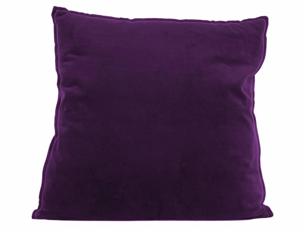 sierkussen Luxurious XL dark purple