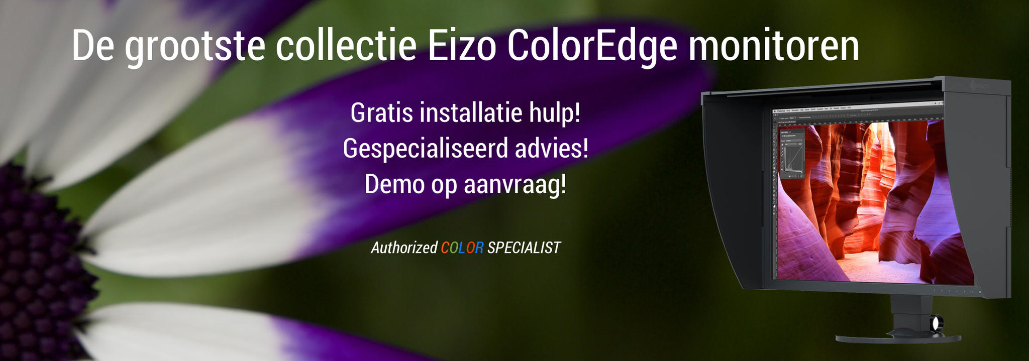Nieuwe Eizo ColorEdge Monitoren