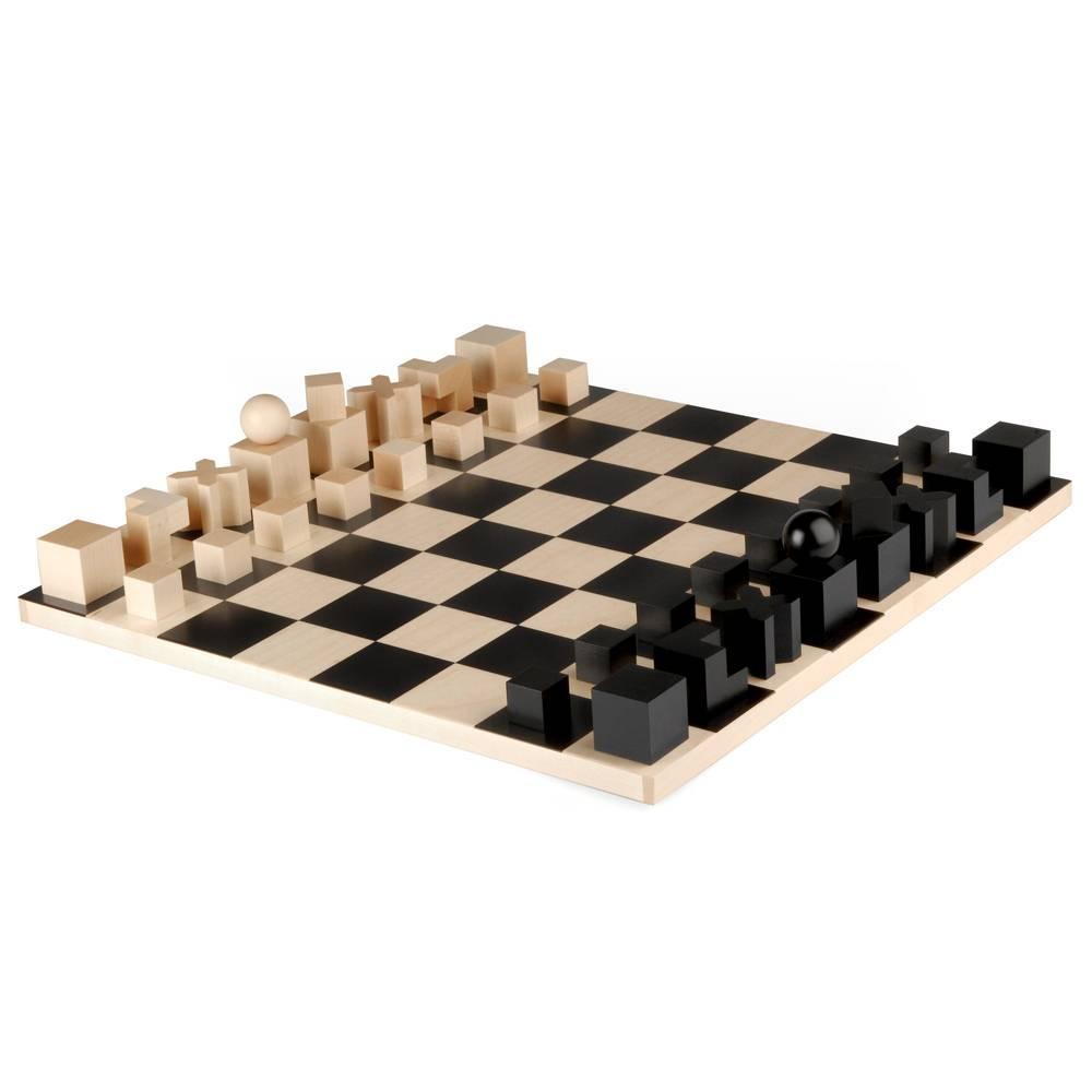 Original Bauhaus Modell Bauhaus Schachfiguren Design Josef