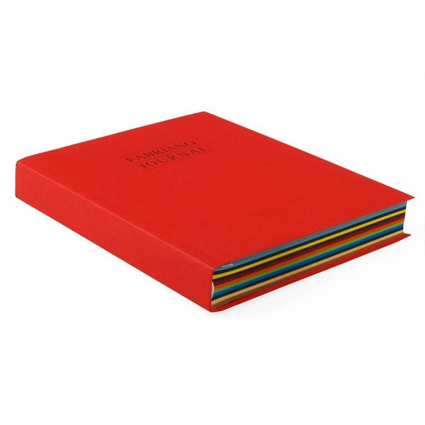 fabriano journal notizbuch 12 farben – design werksentwurf fabriano