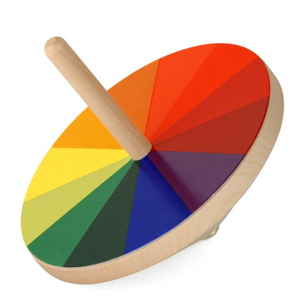 naef original bauhaus modell: bauhaus optischer farbmischer – design ludwig hirschfeld-mack
