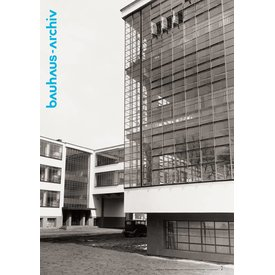 bauhaus-shop poster: fotografie bauhaus dessau von lucia moholy