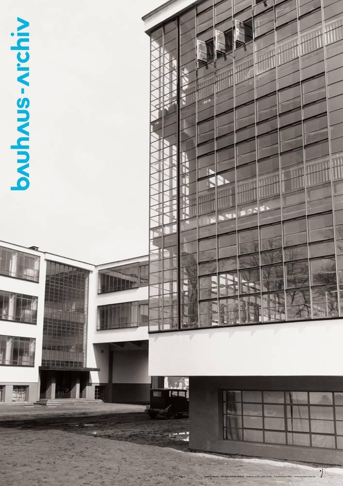 Poster fotografie bauhaus dessau von lucia moholy for Bauhaus design shop