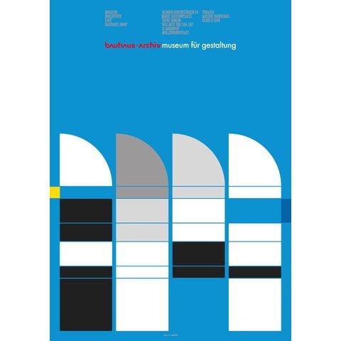 plakat: bauhaus-archiv | sheds