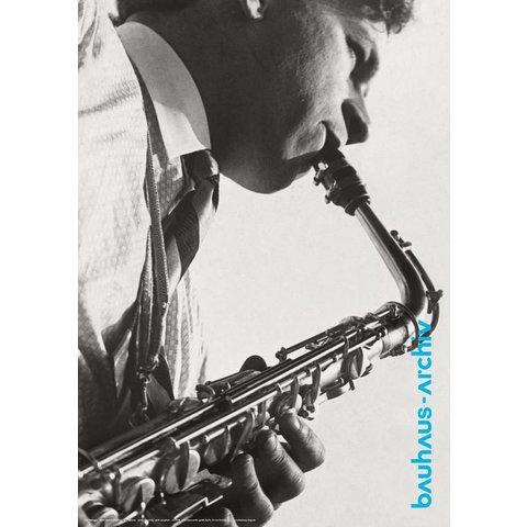 plakat: xanti schawinsky am saxophon