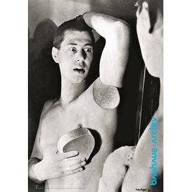 bauhaus-shop plakat: selbstportrait herbert bayer