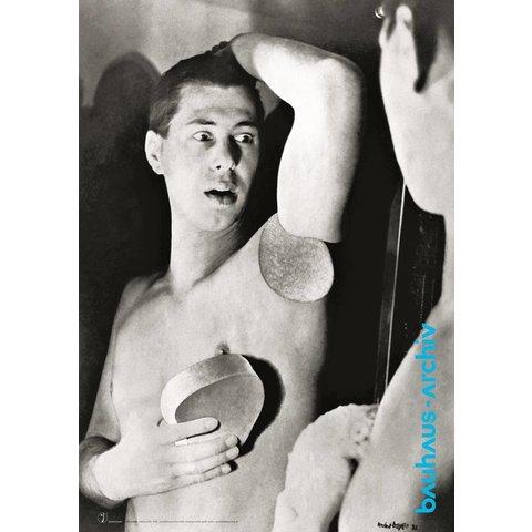 poster: selbstportrait von herbert bayer