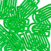 king klips büroklammern | 32mm grün – design kurt lorber