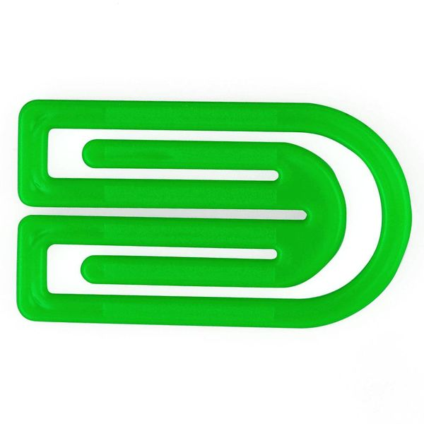 laurel king klips büroklammern | 32mm grün – design kurt lorber